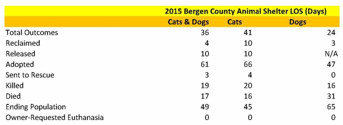 Bergen County Animal Shelter LOS All Dogs and Cats