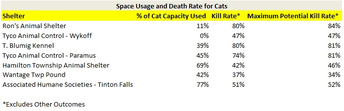 Space Usage Cats
