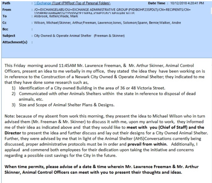 Newark Proposed Shelter Site 2